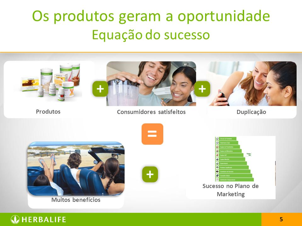Consumidores satisfeitos Sucesso no Plano de Marketing