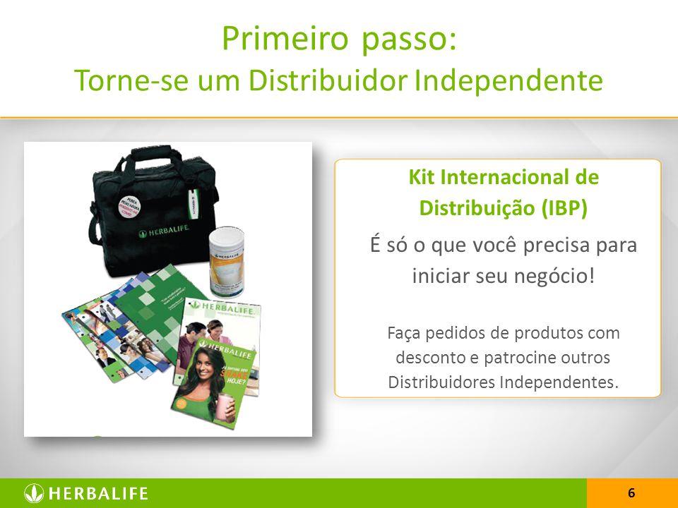 Kit Internacional de Distribuição (IBP)