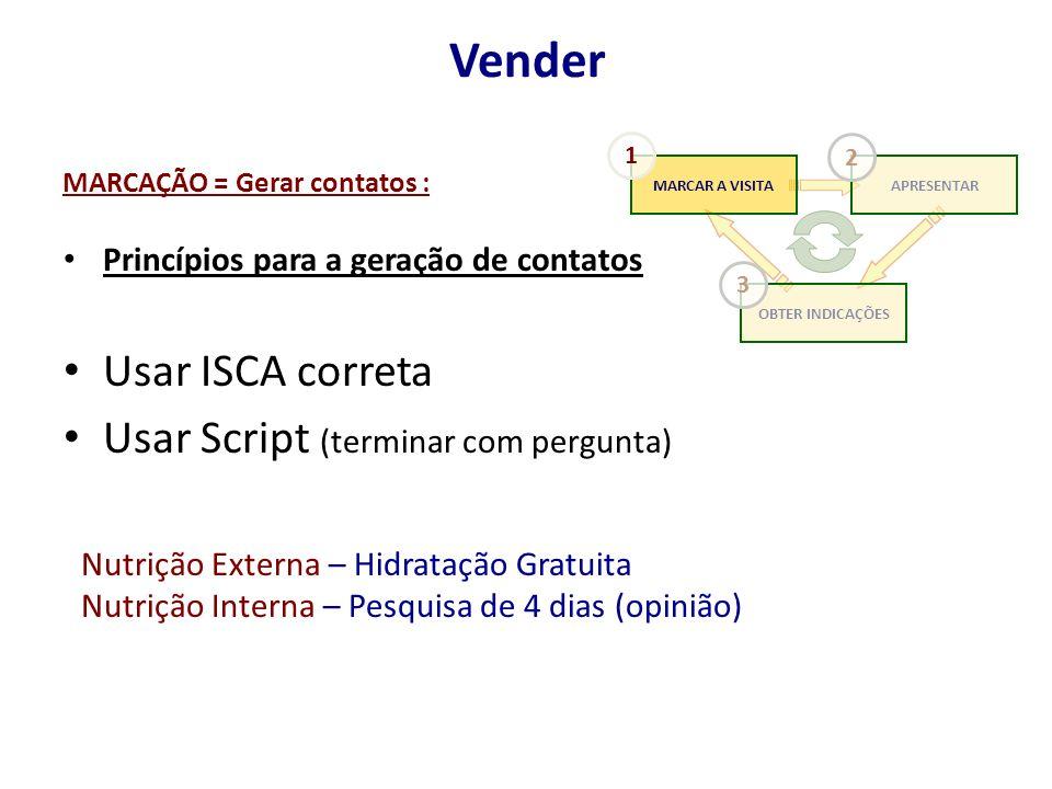 MARCAÇÃO = Gerar contatos :