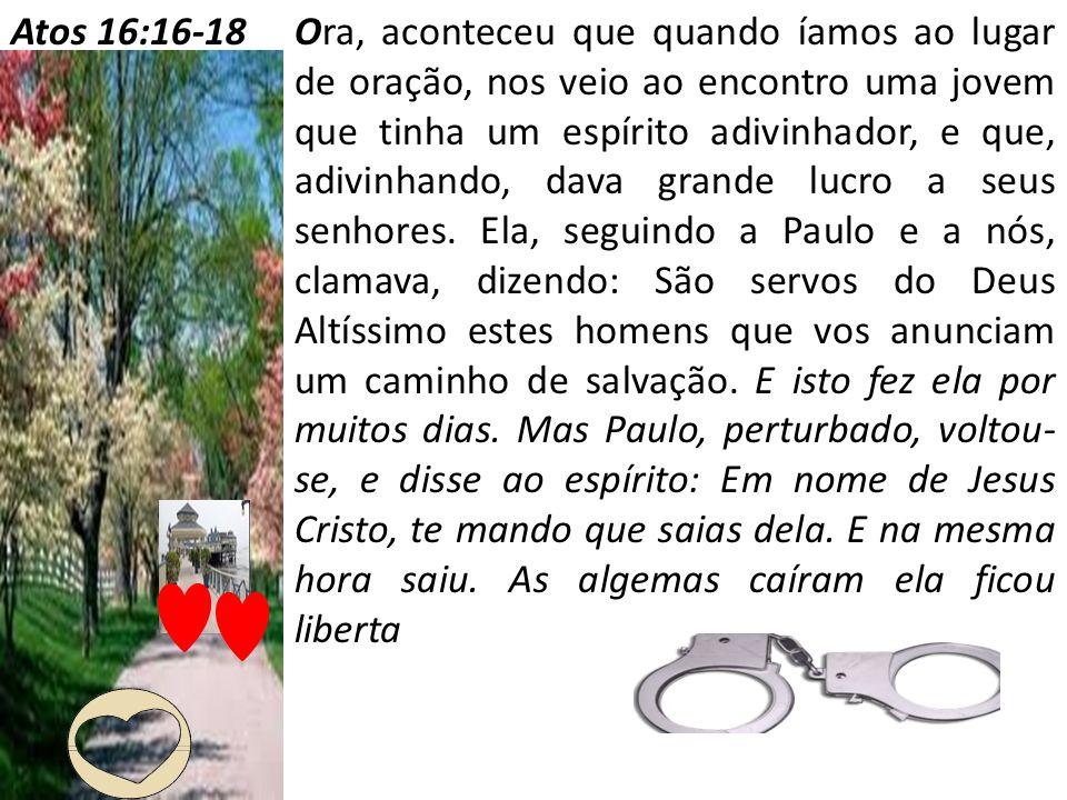 Atos 16:16-18