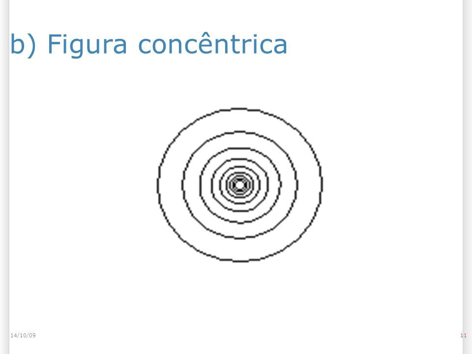 14/10/09 b) Figura concêntrica 14/10/09 11