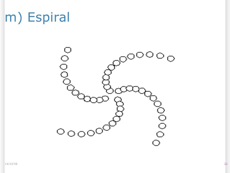 14/10/09 m) Espiral 14/10/09 22