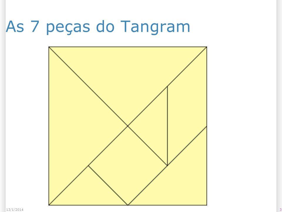 As 7 peças do Tangram 25/03/2017