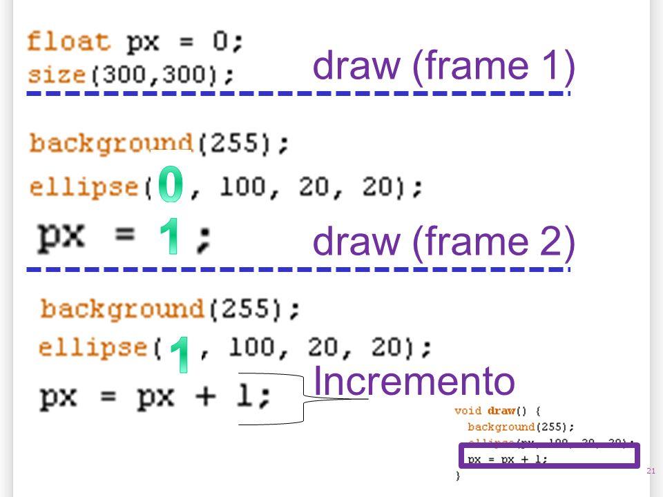14/10/09 draw (frame 1) 1 draw (frame 2) 1 Incremento 21