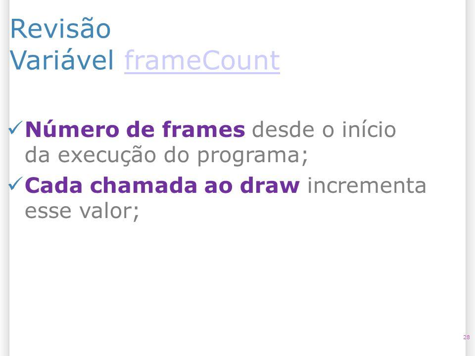 Revisão Variável frameCount