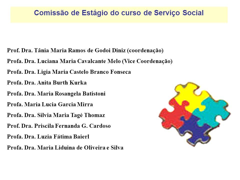 Comissão de Estágio do curso de Serviço Social