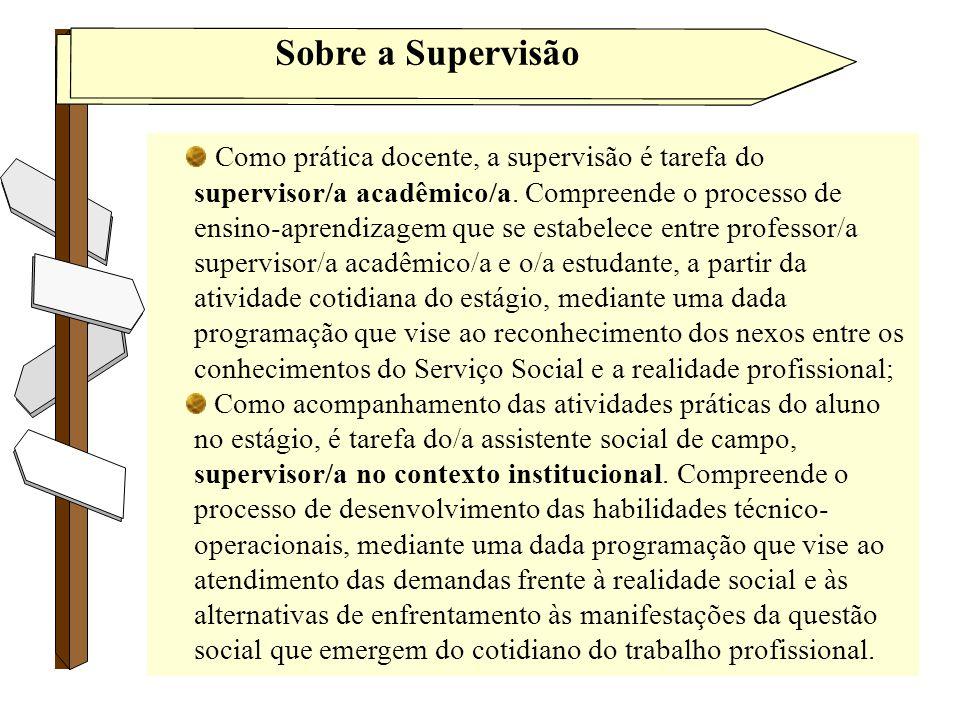 Sobre a Supervisão