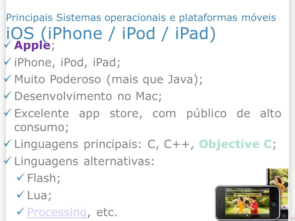 iOS (iPhone / iPod / iPad)