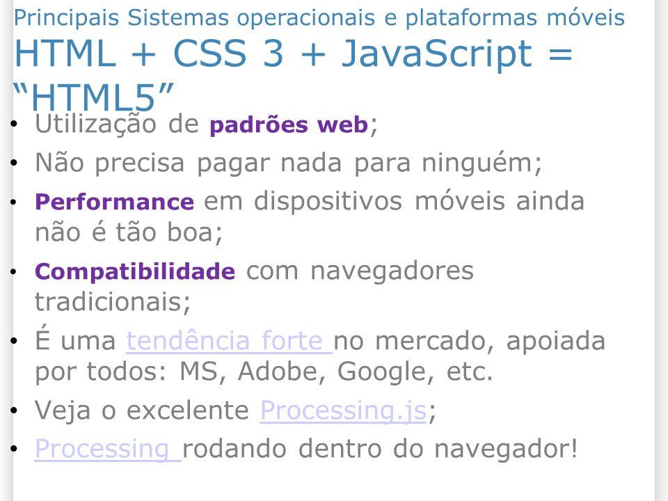 HTML + CSS 3 + JavaScript = HTML5