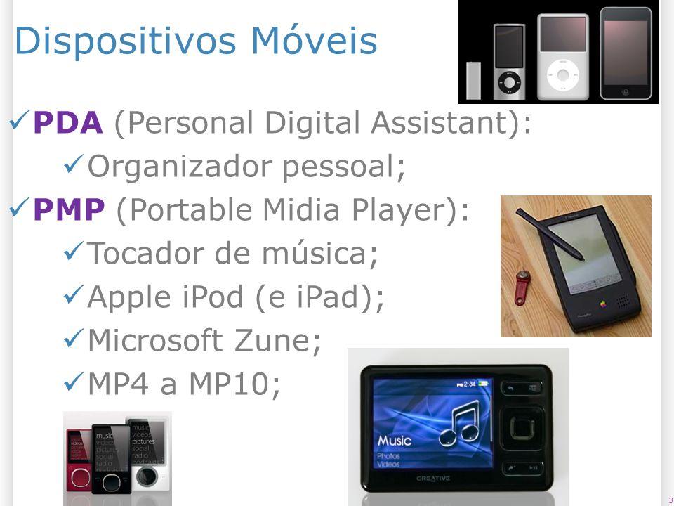 Dispositivos Móveis PDA (Personal Digital Assistant):