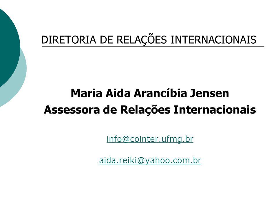 DIRETORIA DE RELAÇÕES INTERNACIONAIS
