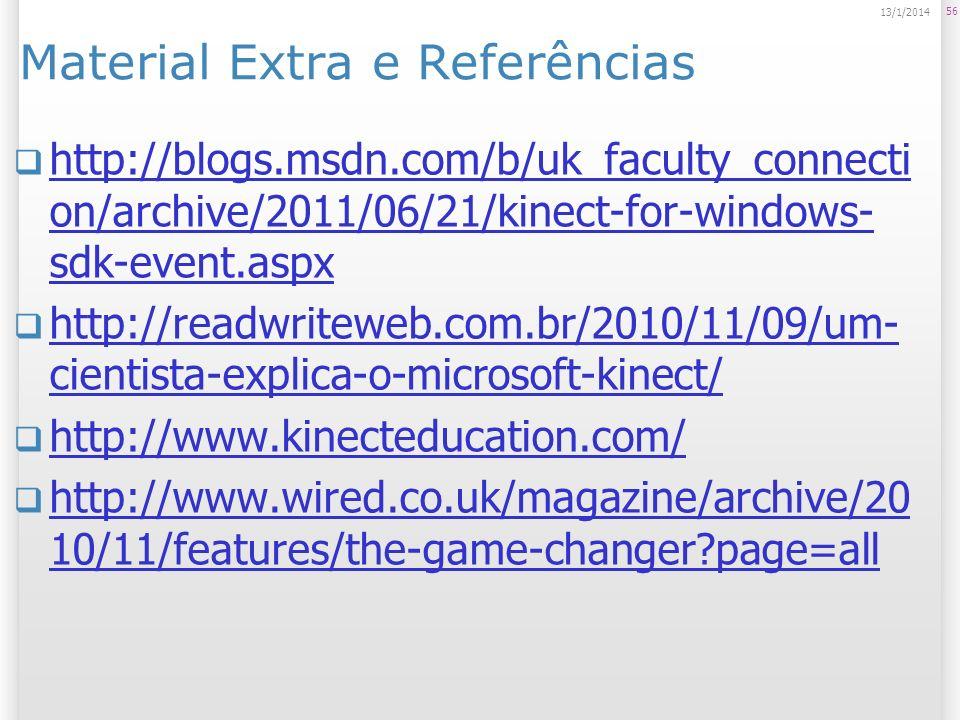 Material Extra e Referências