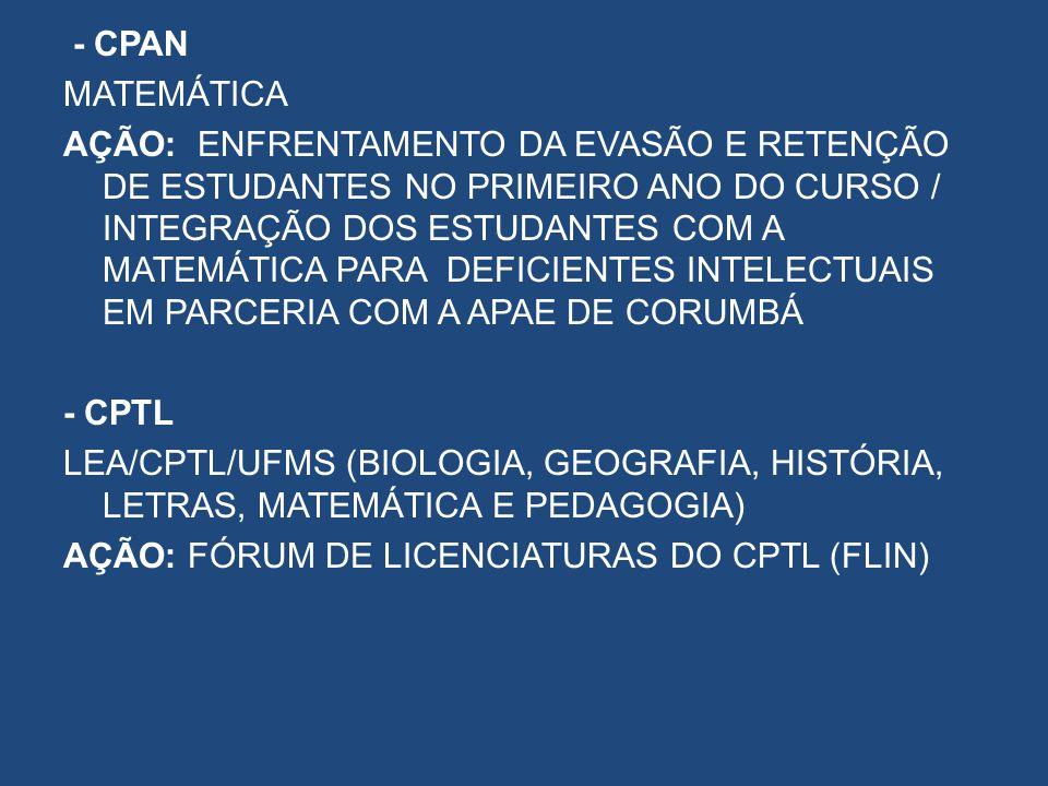 - CPAN MATEMÁTICA.