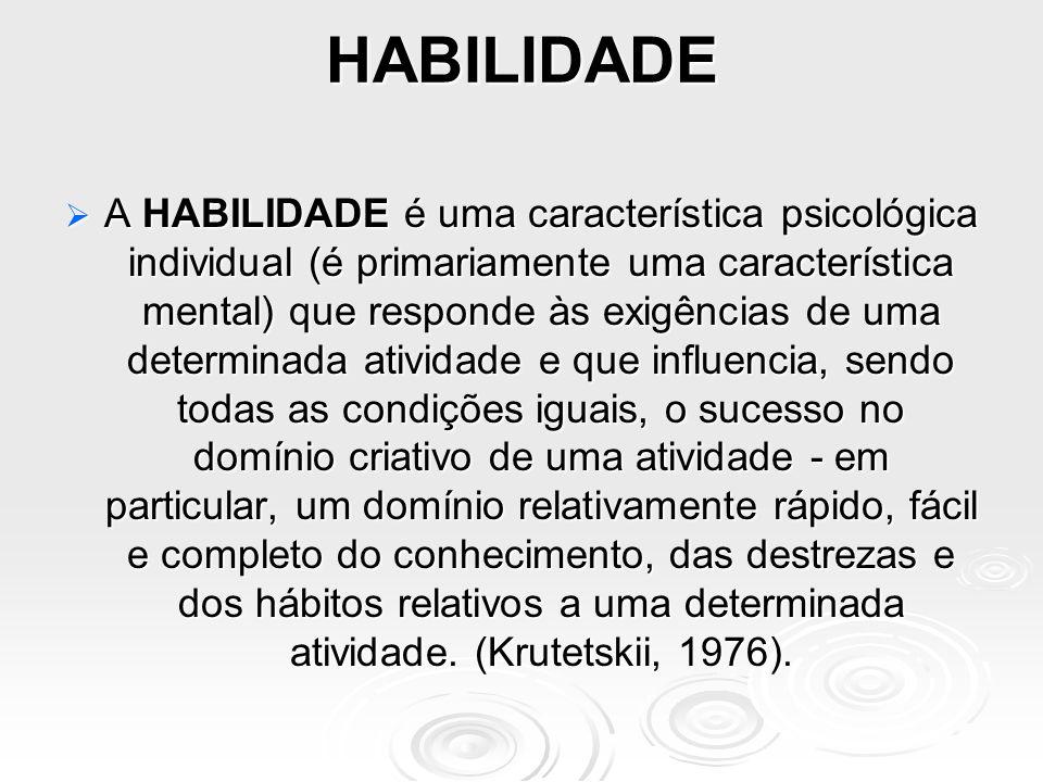HABILIDADE