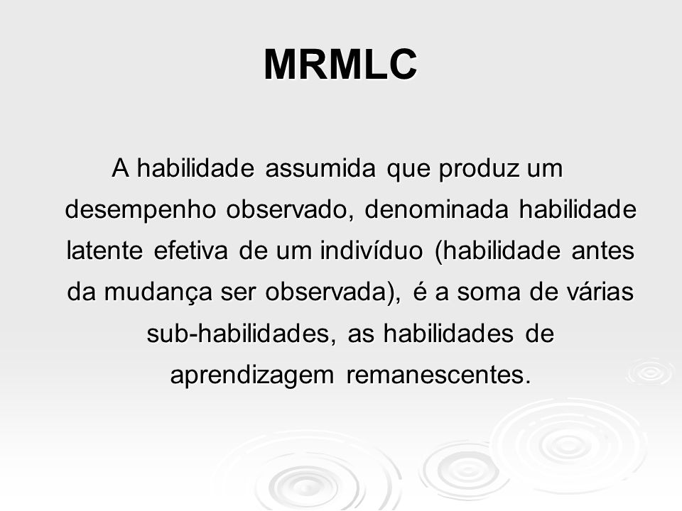 MRMLC
