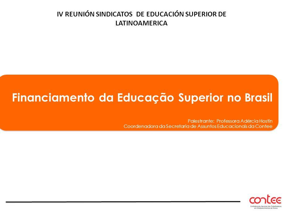 IV REUNIÓN SINDICATOS DE EDUCACIÓN SUPERIOR DE LATINOAMERICA