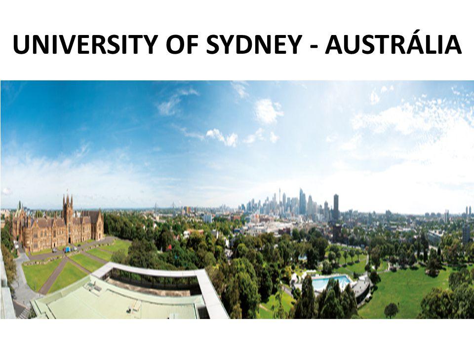 UNIVERSITY OF SYDNEY - AUSTRÁLIA