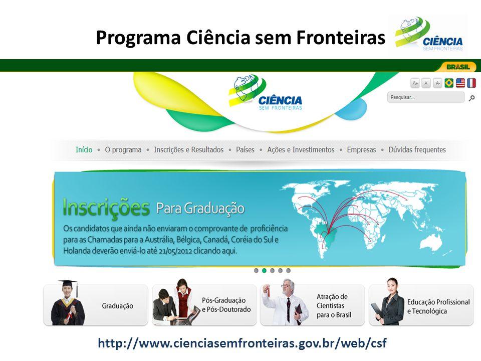 Programa Ciência sem Fronteiras