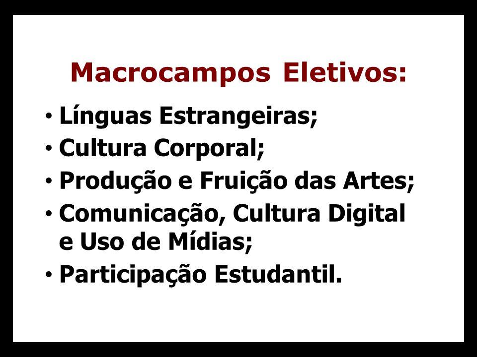 Macrocampos Eletivos: