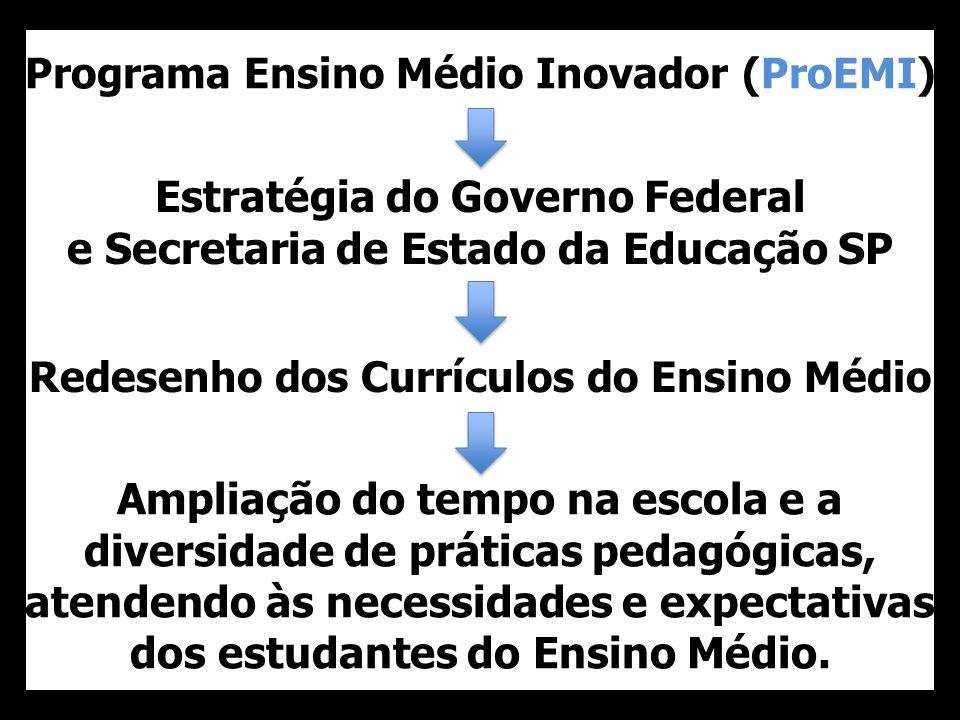 Estratégia do Governo Federal e Secretaria de Estado da Educação SP