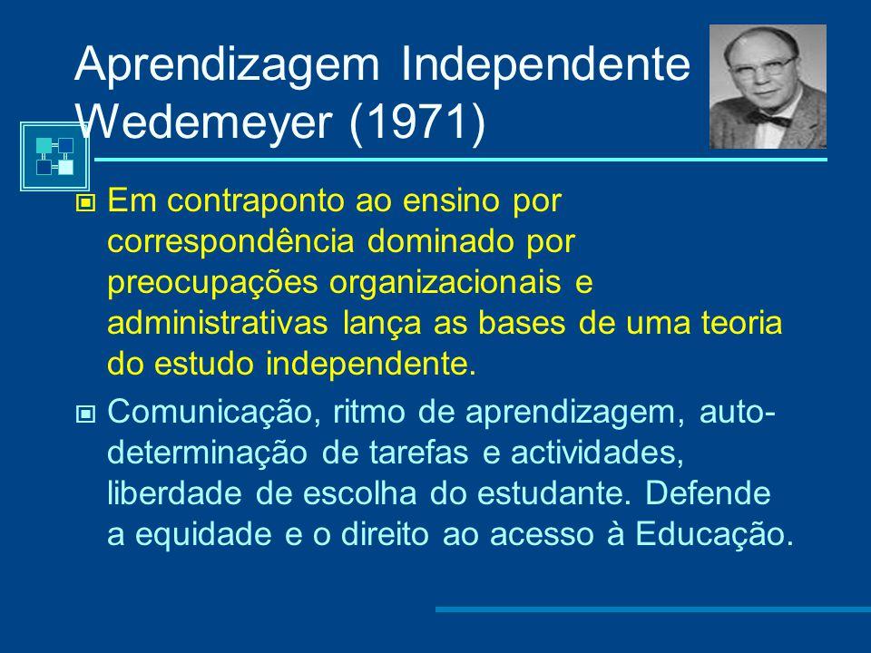 Aprendizagem Independente Wedemeyer (1971)