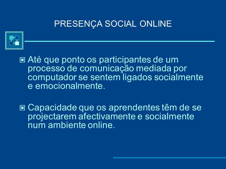 PRESENÇA SOCIAL ONLINE