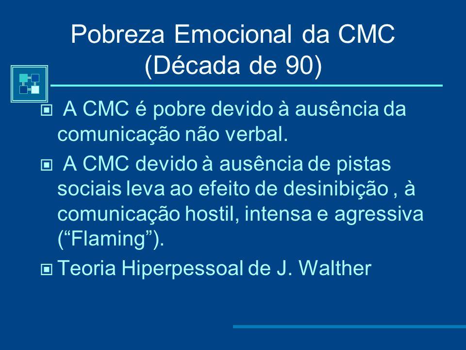 Pobreza Emocional da CMC (Década de 90)