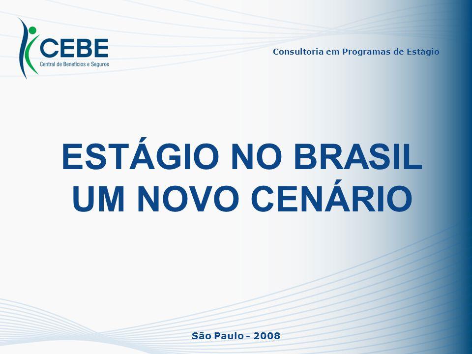 ESTÁGIO NO BRASIL UM NOVO CENÁRIO