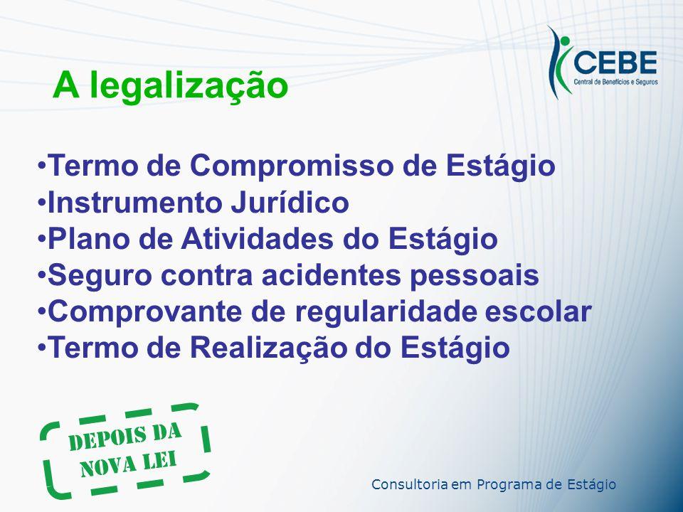 A legalização Termo de Compromisso de Estágio Instrumento Jurídico