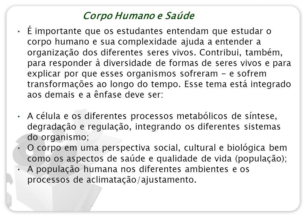 Corpo Humano e Saúde