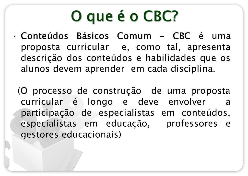 O que é o CBC