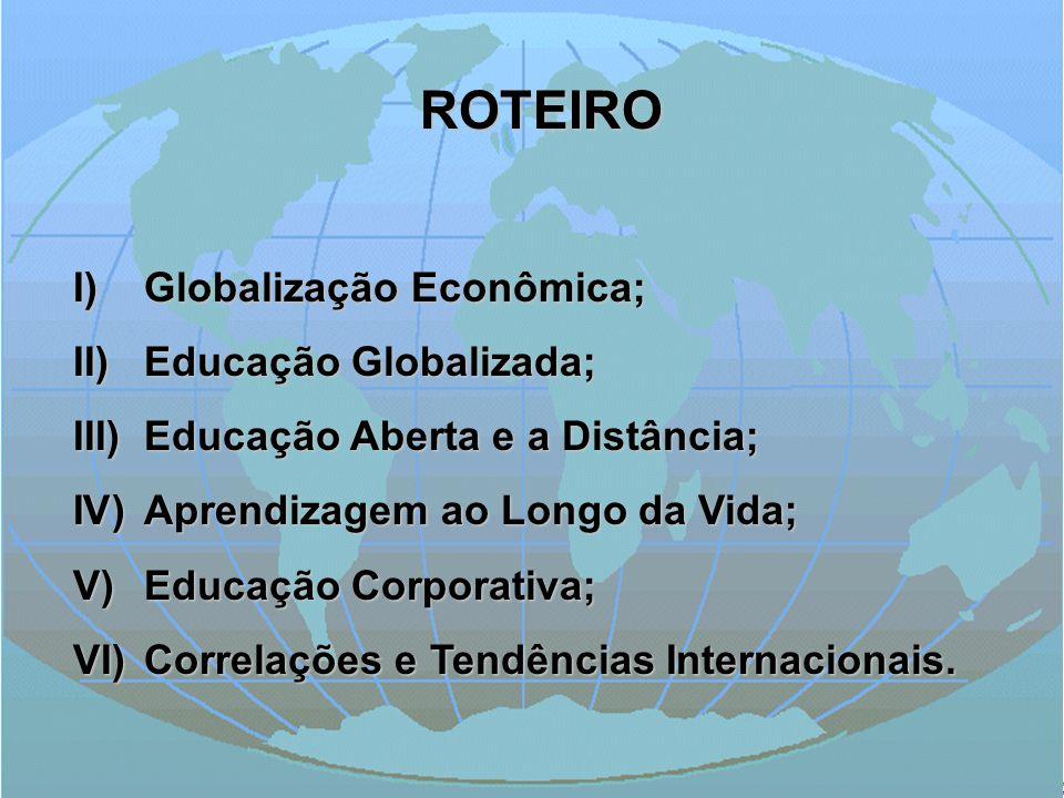 ROTEIRO Globalização Econômica; Educação Globalizada;