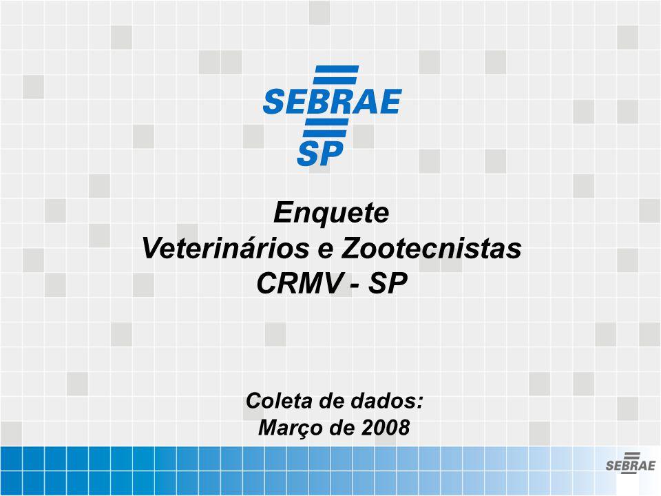 Enquete Veterinários e Zootecnistas CRMV - SP