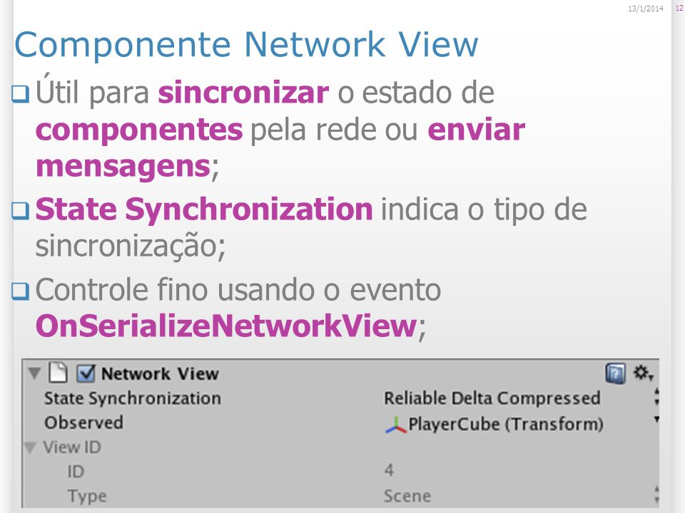 Componente Network View