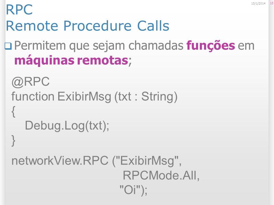 RPC Remote Procedure Calls