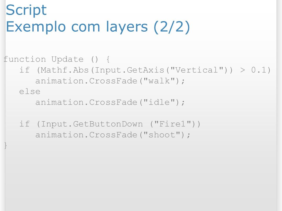 Script Exemplo com layers (2/2)
