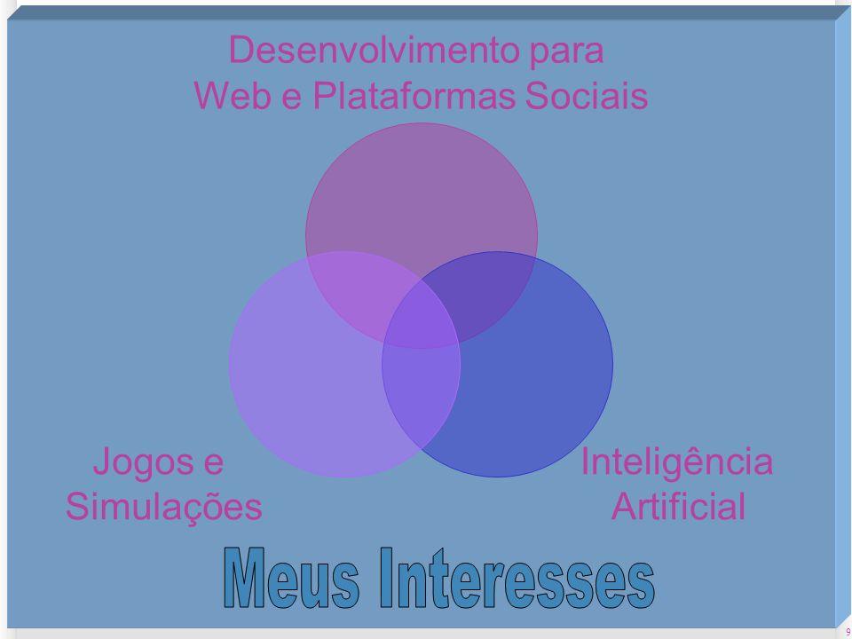 Web e Plataformas Sociais