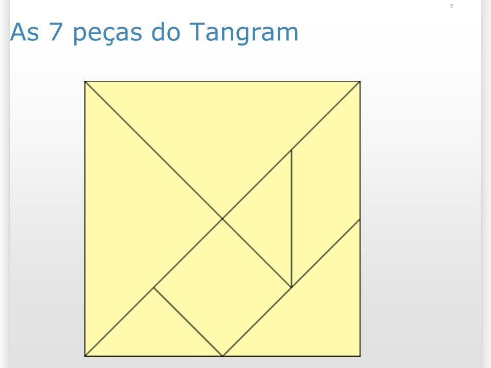 As 7 peças do Tangram