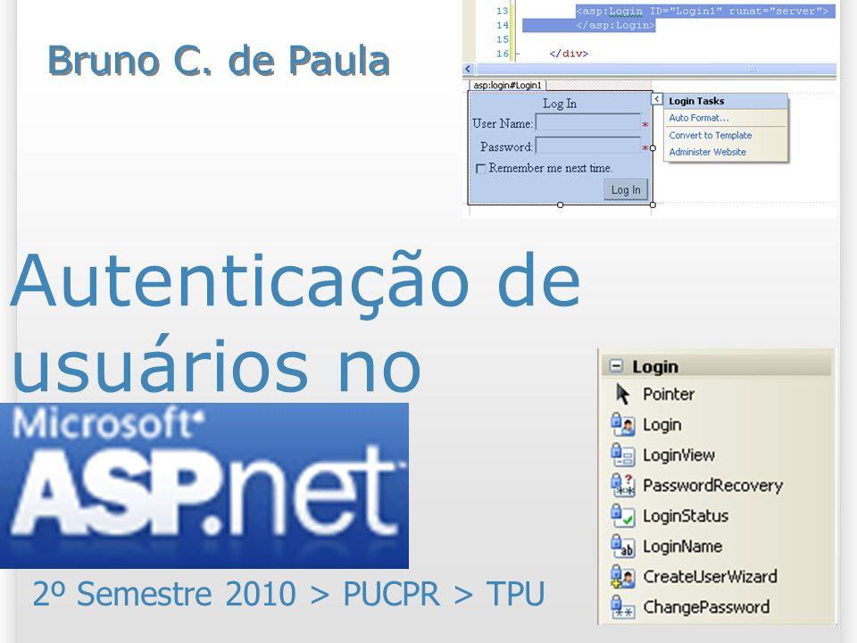 Autenticação de usuários no ASP.NET