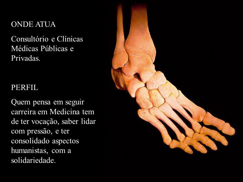 ONDE ATUA Consultório e Clínicas Médicas Públicas e Privadas. PERFIL.