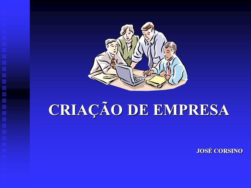 CRIAÇÃO DE EMPRESA JOSÉ CORSINO