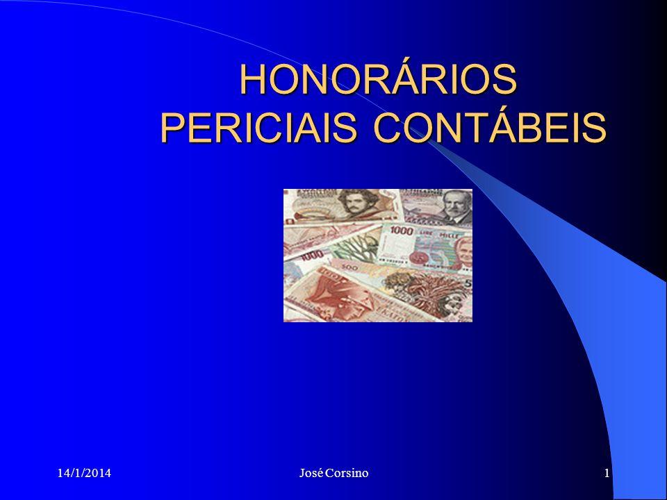 HONORÁRIOS PERICIAIS CONTÁBEIS