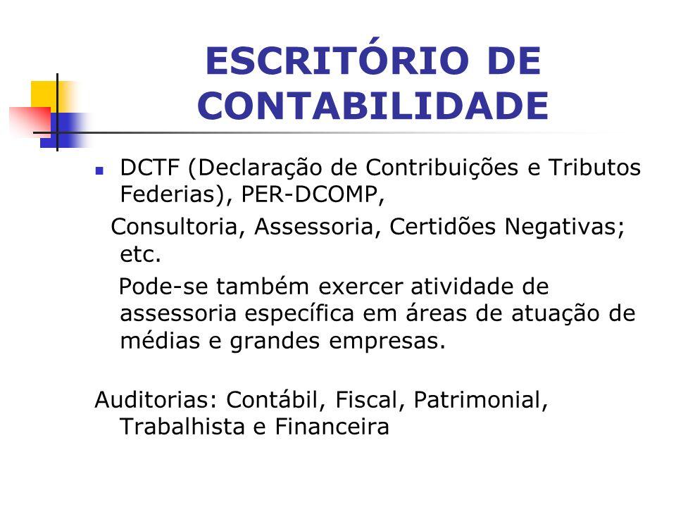ESCRITÓRIO DE CONTABILIDADE