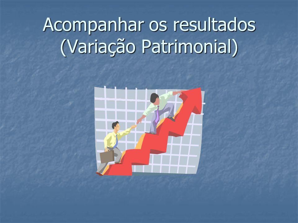 Acompanhar os resultados (Variação Patrimonial)