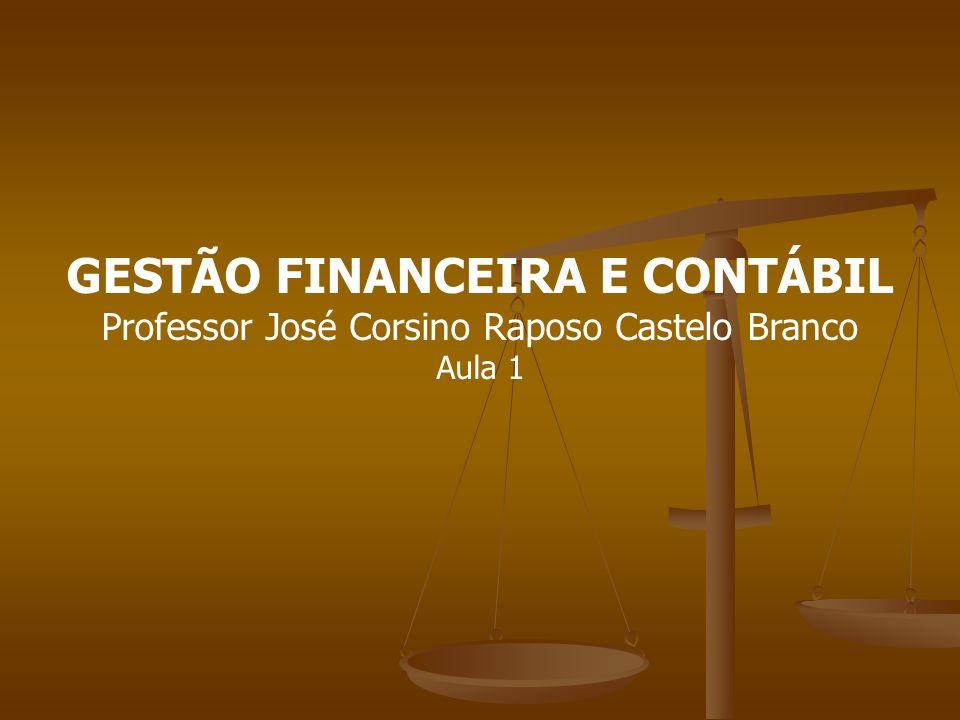 GESTÃO FINANCEIRA E CONTÁBIL
