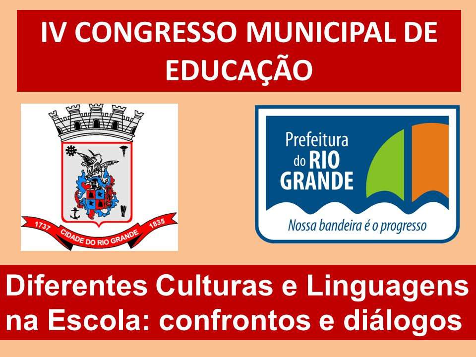 IV CONGRESSO MUNICIPAL DE EDUCAÇÃO