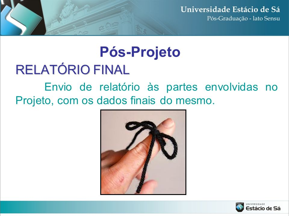 Pós-Projeto RELATÓRIO FINAL