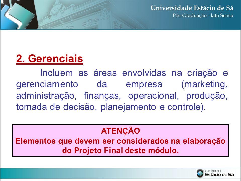 2. Gerenciais