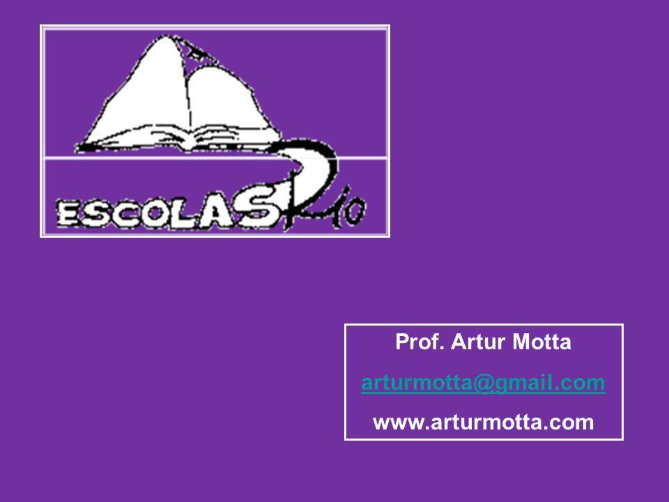 Prof. Artur Motta arturmotta@gmail.com www.arturmotta.com