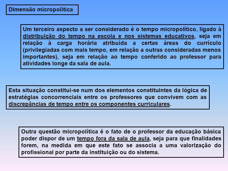 Dimensão micropolítica